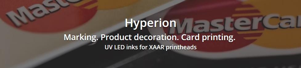 Hyperion Flex - UV LED inks for XAAR printheads
